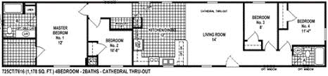 single wide manufactured homes floor plans single wide mobile home floor plans