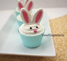 bunny ear cupcake toppers u2013 the sweet adventures of sugar belle