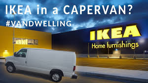ikea furniture for a campervan vandwelling youtube