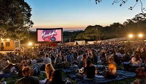 Botanical Gardens Open Air Cinema Moonlight Cinema Adelaide