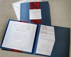 Pocket Wedding Invites Custom Wedding Invitation Square Pocket Folder U2013 Papercake Designs