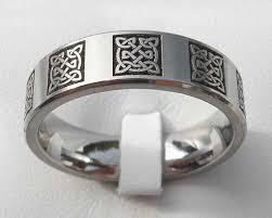 mens rings uk men s celtic titanium ring love2have in the uk