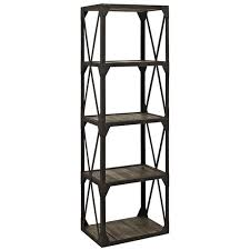 Steel Frame Bookcase Home Office Bookcase One Perfect Choice