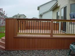 Deck Railing Planter Box Plans by Deck Stairs Designs With Railing Deck Design And Ideas
