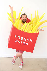 french halloween costumes diy french fry halloween costume
