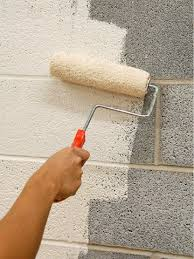 Painting Masonry Exterior - seal surface u2026 concrete walls pinterest concrete block walls