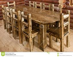 Handmade Kitchen Table by Handmade Large Kitchen Table Stock Image Image 17034891
