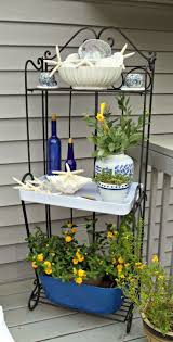 Decorating A Bakers Rack 30 Best Outdoor Bakers Racks Images On Pinterest Bakers Rack