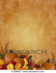 clipart of thanksgiving autumn fall background k1296401 search