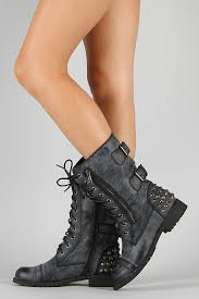 womens black combat boots size 11 boots for