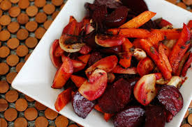 Recipe For Roasted Root Vegetables - roasted beets turnips and carrots beantown baker
