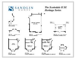 heritage homes floor plans sandlin floorplans scottsdale ii se u2013 sandlin homes