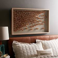 wood frame wall decor wood frame wall decor west elm