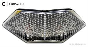 ninja 300 integrated tail light customled motorcycle lights