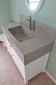 concrete bathroom sinks nj unique concrete
