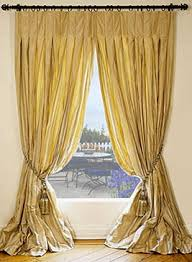Yellow Faux Silk Curtains Silk Taffeta Drapes Made To Order In The Usa Dreamdrapes