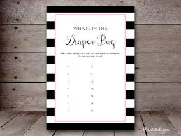 what s in the bag baby shower what s in the bag printabell create