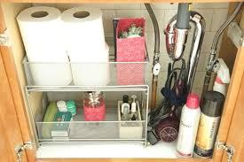 under bathroom sink organization ideas 45 elegant under the bathroom sink storage ideas derekhansen me