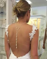 wedding backdrop necklace wedding jewellery backdrop necklace backless dress made with