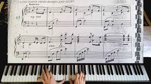 themes of youth in romeo and juliet nino rota romeo and juliet 1968 theme piano tutorial youtube