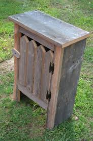 Reclaimed Barn Wood Furniture Amazon Com Old Barn Wood Cabinet This Simple Yet Striking