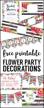 best 25 free printable invitations ideas on floral