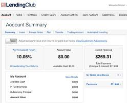 liquidate and a lending club or prosper account