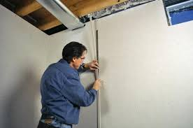 insulated wall panels for the basement rigid foam insulation