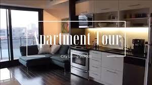Minimalist Apartment Minimalist Apartment Tour City Living W Kids Youtube