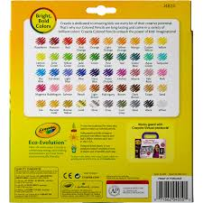 crayola colored pencils 50 count and colors pre sharpened
