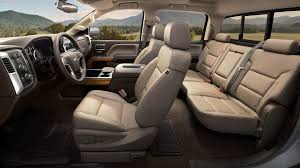 the spacious 2017 chevrolet silverado 1500 interior