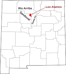 Map Of Nm File Map Of New Mexico Highlighting Los Alamos County Svg