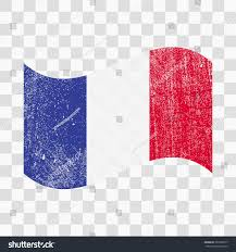 Frwnch Flag Grunge France Flag French Flag Distress Stock Vector 569520577