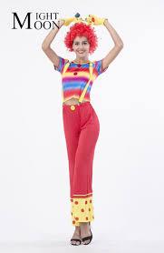 ladies clown halloween costumes woman clown costumes promotion shop for promotional woman clown