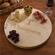 personalized serving dish personalized lazy susan serving tray maple