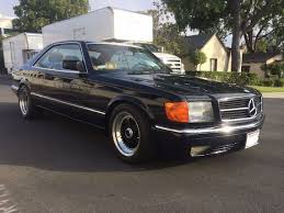 mercedes 560 sec coupe for sale 1988 mercedes 560sec german cars for sale