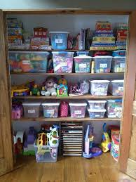 how to organize toys coat closet turned into organized closet organize