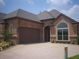 best garage door makeover decor with dark brown accents color