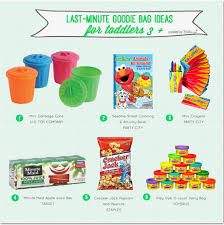 goodie bag ideas goodie bags for kids last minute ideas for kids 3 and up