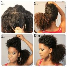 8 quick u0026 easy hairstyles on medium short natural hair