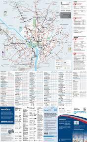 washington dc metrobus map wmata washington dc metrobus maplets