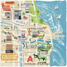chicago tourist map image result for simple tourist maps of cities with buildings and