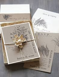 boxed wedding invitations rustic wedding invitations boxed wedding invitations woodland