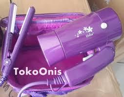 Catok Rambut Yg Kecil hair care gift pack dari heles jual catokan rambut hairdryer