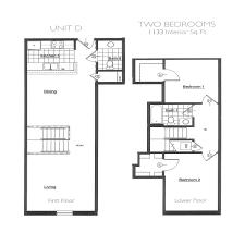two bedroom floor plans plant zero