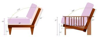 Reference Common Dimensions Angles And Heights For Seating - Best ergonomic sofa