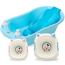 baby shower tub washbasin baby bath can sit lying non slip thickened plus size