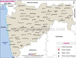 cities map cities in maharashtra