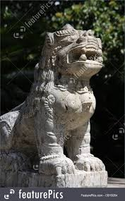 lion statue asian lion statue image