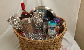 wine baskets ideas wine basket gift idea for bridal shower gift baskets by wine